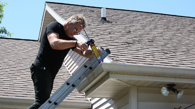 Roof maintenance service performed by professional
